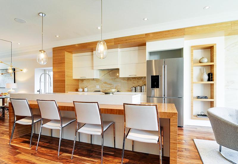 large-wood-finished-kitchen-island